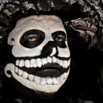 Galeria Moa, fotografia, diseño, arte, decoración, cuadros, Carolina Medina, huesos, disfraz, carnaval, mexico, muerte, muerto