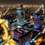 Bogota, nocturna, Noche, Cesar Uribe, Fotografia, Galeria Moa, Torre Colpatria, diseño, decoración, Arte, ciudad, panoramica