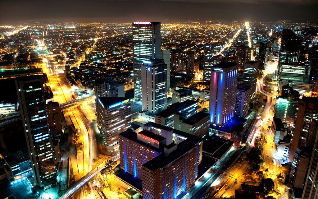 Un día cotidiano en Bogota