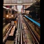 Metro, Diego Sivla, Chicago, Rieles, Estacion, Galeria MOA, Ventana, Subway, Fotografia, Diseño, Decoracion, Cuadros, Arte