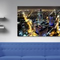 Bogota, nocturna, Noche, Cesar Uribe, Fotografia, Galeria Moa, Torre Colpatria, diseño, decoración, Arte, ciudad, panoramica,