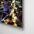Bogota, nocturna, Noche, Cesar Uribe, Fotografia, Galeria Moa, Torre Colpatria, diseño, decoración, Arte, ciudad, panoramica, acabado, aluminio, dibond, retablo