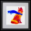 Zorro, Galeria, MOA, ilustracion, dibujo, arte, colombia, bogota, diseño