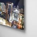 Ciudad, nocturna, Miami, vidrio, edificios, Galeria MOA, Alvaro Ramirez, fotografía, decoración, diseño, acrilico, plexiglas