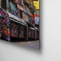 Graffitti, urbano, calle, color, arte, Galeria MOA, Alvaro Ramirez, fotografía, decoración, diseño, dibond, aluminio, retablo flotado