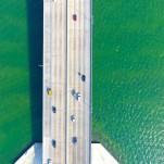 Miami, puente, mar, verdes, azules, color, arte, Galeria MOA, Alvaro Ramirez, fotografía, decoración, diseño