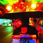 Tuc tuc, urbano, calle, noche, movimiento, color, arte, Galeria MOA, Alvaro Ramirez, fotografía, decoración, diseño
