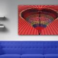 Sombrilla, color, Natalia Pfeifer, Galeria MOA, fotografía, arte, decoración, Japon, ambiente