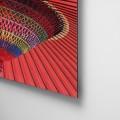 Sombrilla, color, Natalia Pfeifer, Galeria MOA, fotografía, arte, decoración, Japon, dibond, aluminio