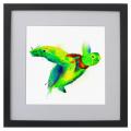 Ilustración, tortuga, Galeria MOA, arte, decoración, cuadro, mar, animales, MOA Prints, marco negro