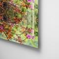 Camila Bruce, fotografia, galeria MOA, arte, diseño, decoracion, flores, collage, naturaleza, acrílico, plexiglas