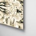 Camila Bruce, fotografia, galeria MOA, arte, diseño, decoracion, flor, dibond, aluminio